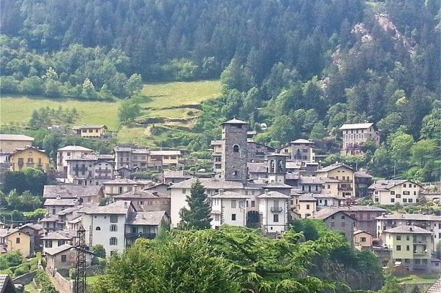 Il borgo antico di Gromo