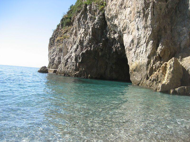 La costa del golfo di Conca dei Marini