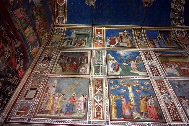 Giotto, gli affreschi della Cappella degli Scrovegni – Foto Wikimedia Commons