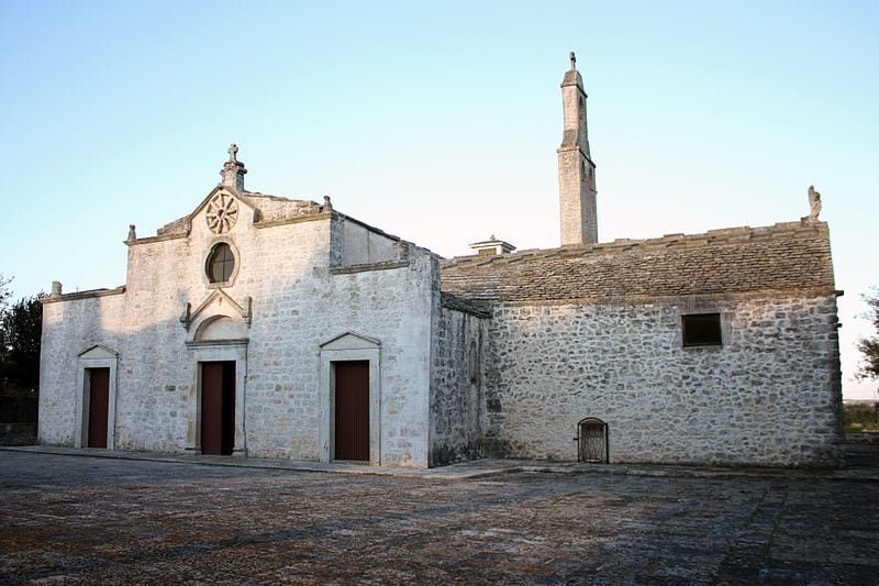 Santuario madonna d ibernia Cisternino