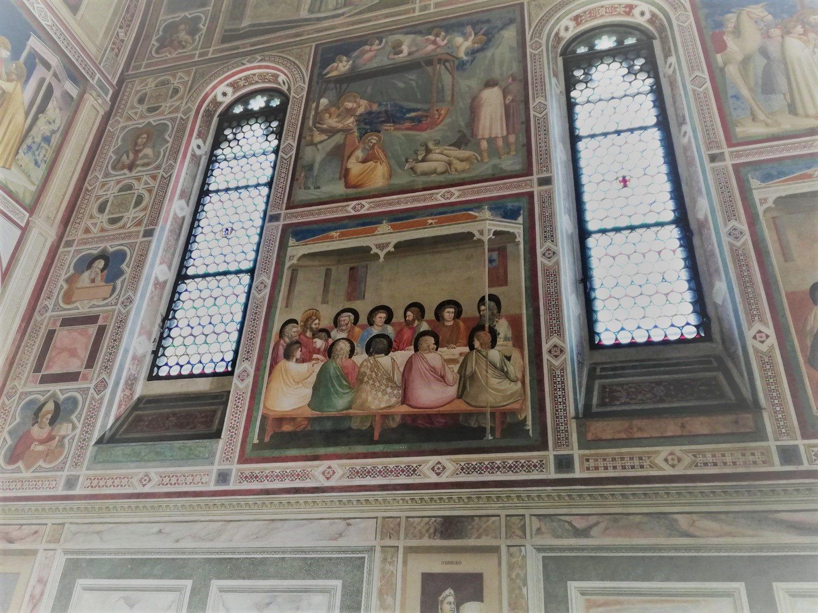 Alcuni affreschi giotteschi della Cappella degli Scrovegni
