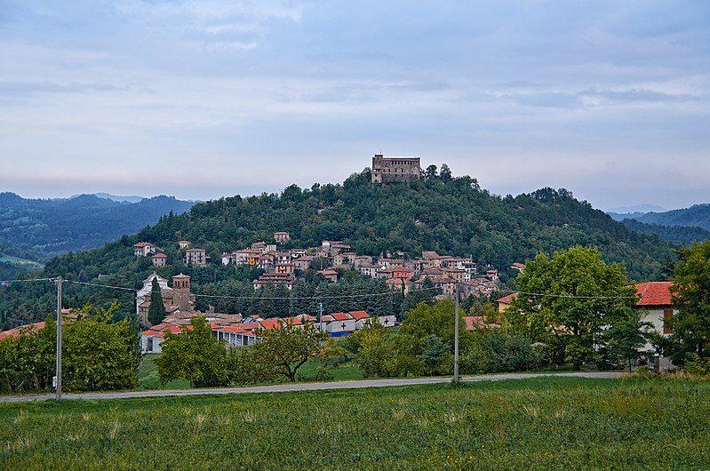 Panorama su Zavattarello