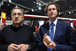 Ferrari, primo giorno a Maranello per John Elkann e Louis Carey Camilleri