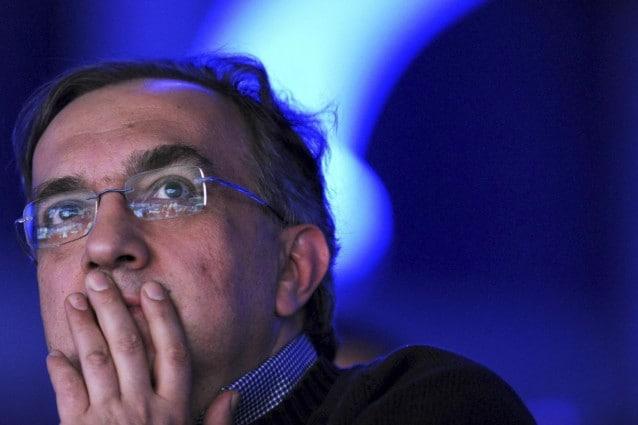 L'amministratore delegato di Fca Sergio Marchionne / Getty