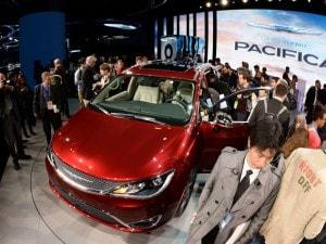 La presentazione della Chrysler Pacifica al Naias 2016