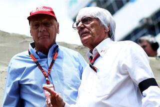 """Bernie Ecclestone non sarà al funerale di Lauda: """"Per me Niki continua a vivere"""""""