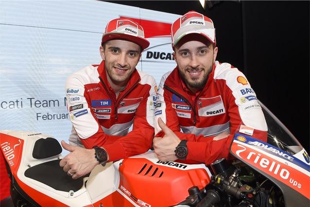 Andrea Iannone e Andrea Dovizioso / Ducati