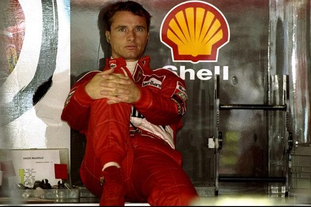 Eddie Irvine – Michael Cooper /Allsport