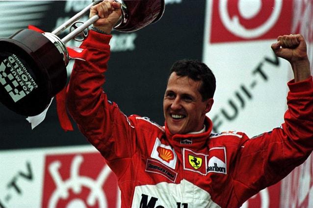 Michael Schumacher trionfa nel Gp del Giappone – Clive Mason/ALLSPORT