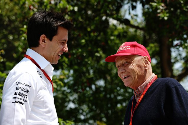 Niki Lauda e Toto Wolff – Getty Images
