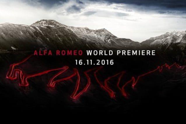 Alfa Romeo Stelvio World Premiere