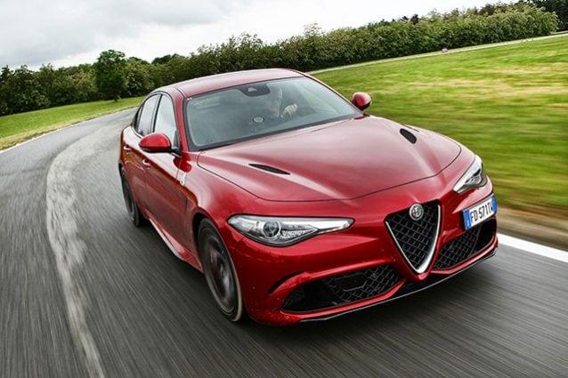 Alfa Romeo Giulia Quadrifoglio Auto Dell'anno 2016 Top Gear