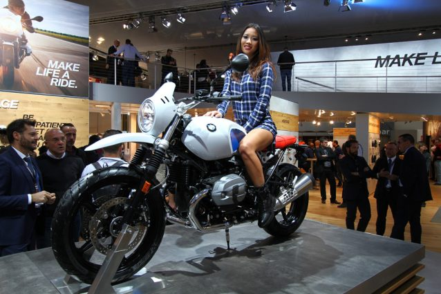 La nuova BMW R nine T GS
