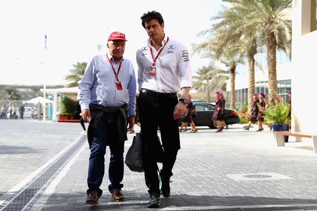 Toto Wolff e Niki Lauda – Getty Images