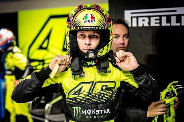Valentino Rossi al Monza Rally Show 2015 / Getty