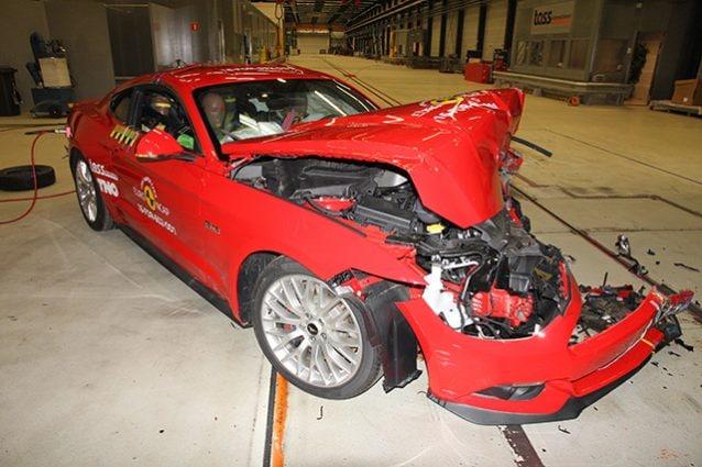 Ford Mustang Crash Test Euro NCAP