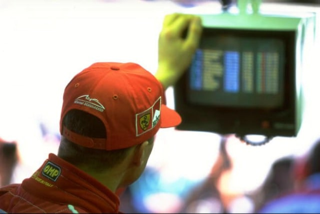 Schumacher tempi di qualifica GP d'Europa 1997