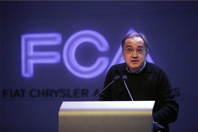 L'amministratore delegato Fca, Sergio Marchionne
