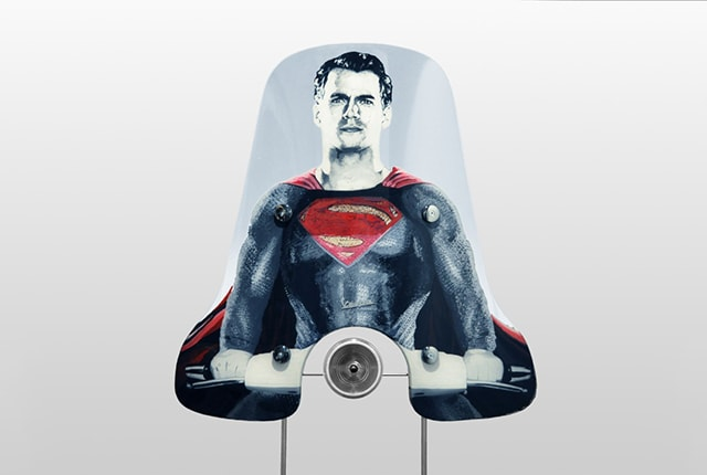 Parabrezza Vespa Superman