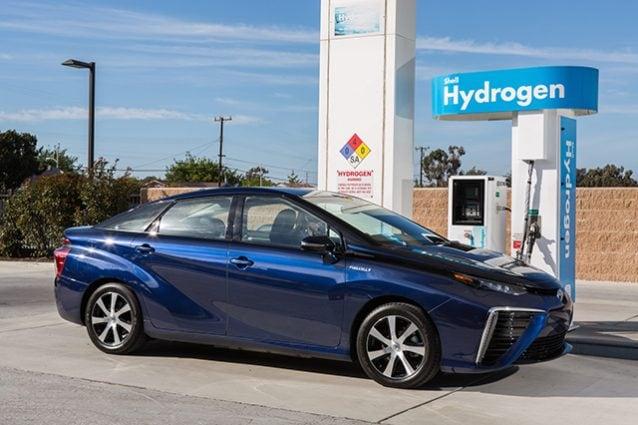 Toyota Mirai Idrogeno