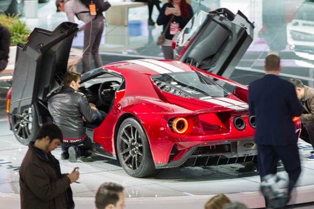 Ford Gt rossa