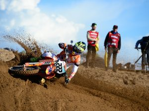 Tony Cairoli in azione in Sardegna – credito fotografico Off Road Pro Racing
