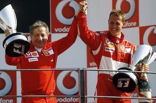 """Jean Todt alimenta la speranza: """"Schumacher sta migliorando, vediamo la F1 insieme"""""""