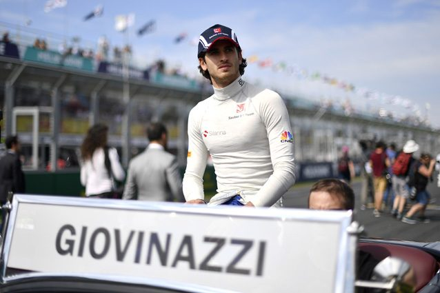 Antonio Giovinazzi – Getty Images