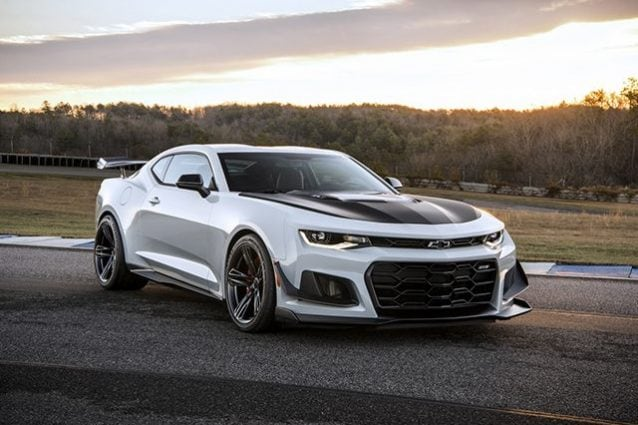 Chevrolet Camaro Zl1 with 1LE Track Package