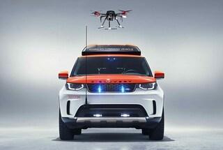 Project Hero, la Land Rover con drone integrato del Salone di Ginevra