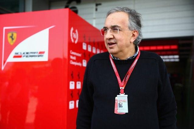 Il presidente della Ferrari Sergio Marchionne – Getty Images