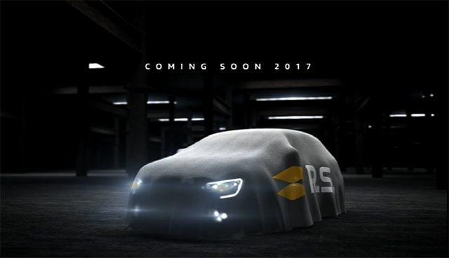 Teaser renault Megane RS