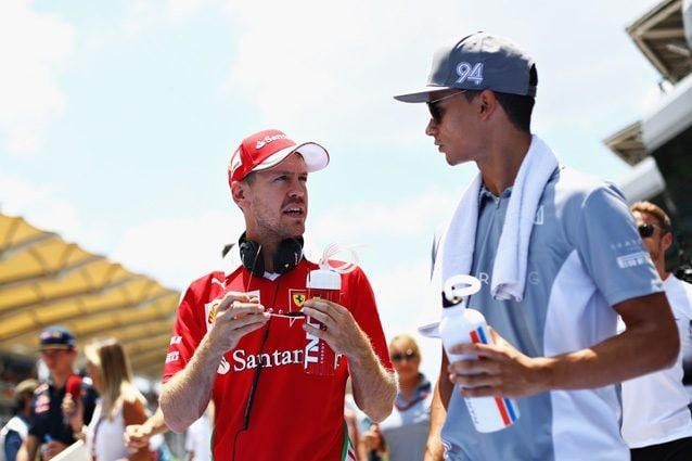 Vettel e Wehrlein – Getty Images