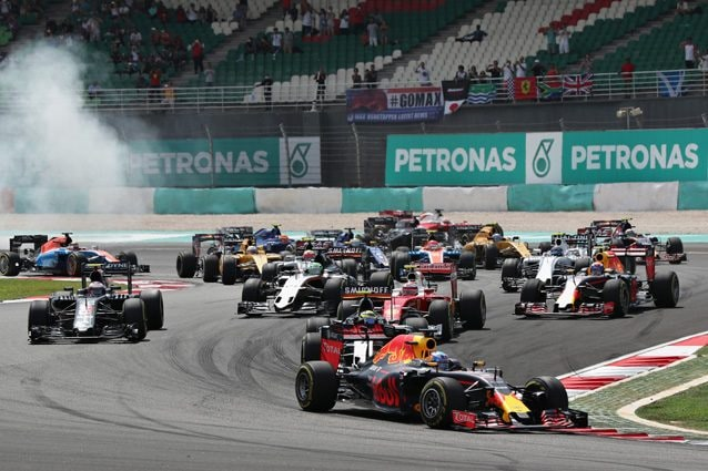 La partenza del GP della Malesia – Getty Images