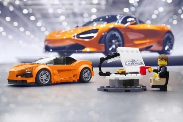 McLaren 720S, la nuova supercar diventa di Lego