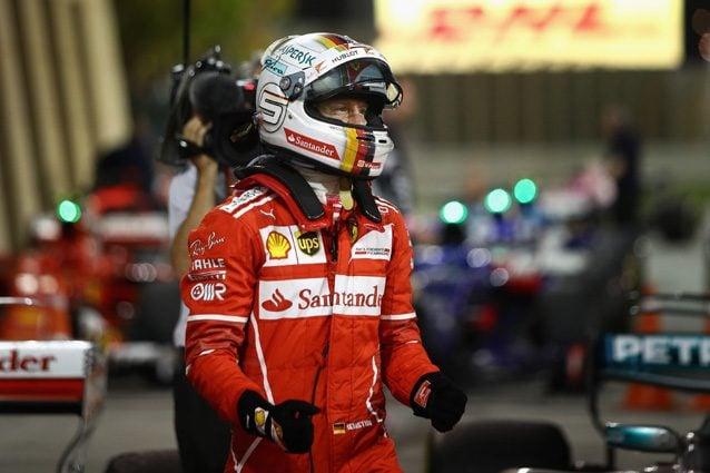 Sebastian Vettel dopo la vittoria in Bahrain – Getty Images