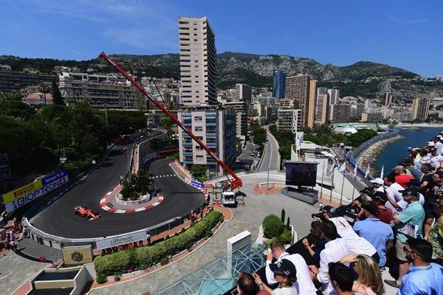 La vista da uno degli hotel che affacciano sulla pista di Monaco – Getty Images