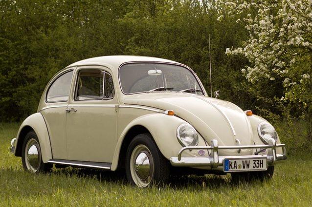 Un Maggiolino Volkswagen