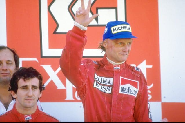 Niki Lauda – Getty Images