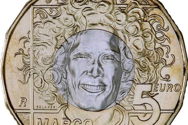La moneta dedicata a Marco Simoncelli / Ufficio Filatelico e Numismatico di San Marino