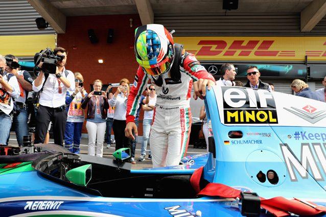 Mick Schumacher in pista a Spa – Getty Images