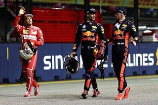 """Ricciardo e il confronto tra ex compagni in Red Bull: """"Verstappen è più veloce di Vettel"""""""