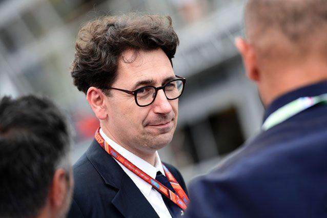 Mattia Binotto, Chief Tecnical Officer della Ferrari – Getty images