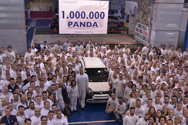 Il milionesimo esemplare di Fiat Panda