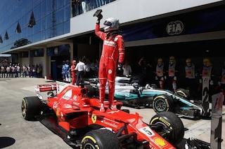 Ferrari in Brasile per il mondiale costruttori, Vettel a caccia di Schumacher