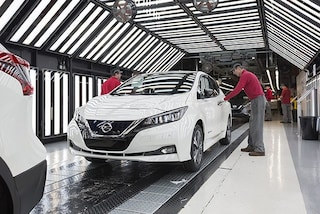 Nissan Leaf, elettrica dei record: 100.000 auto vendute in Europa