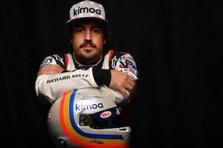 Alonso pensa alla 500 Miglia di Indianapolis, sondaggio per scegliere il casco con cui correrà