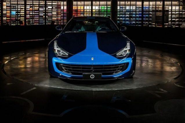 La Ferrari GtC4 Azzurra di Lapo Helkann / Garage Customs Italia