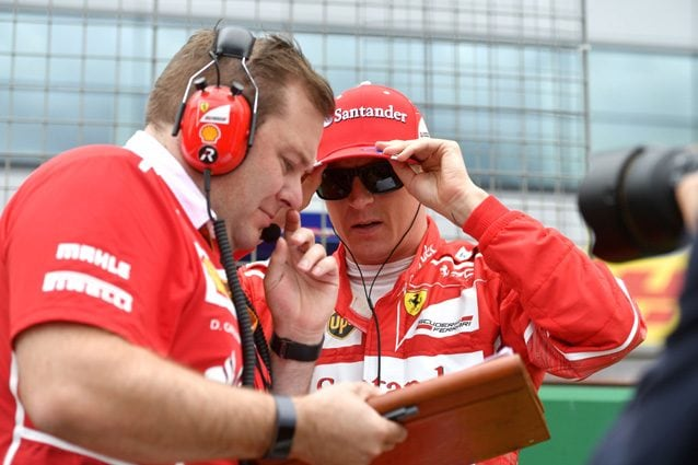 Raikkonen insieme e Greenwood – Getty images