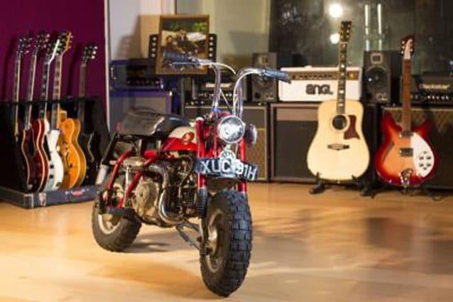 La Honda Monkey che fu di John Lennon – Foto H&H Classics